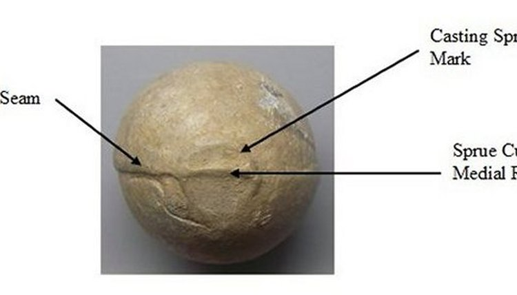 Musket ball features