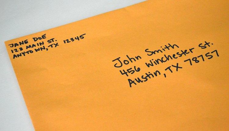 Write Letter To Prisoner What Should Be On Envelope