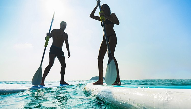 Give It A Try: Stand Up Paddling