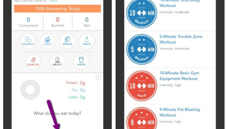 How to Access In-App Workouts