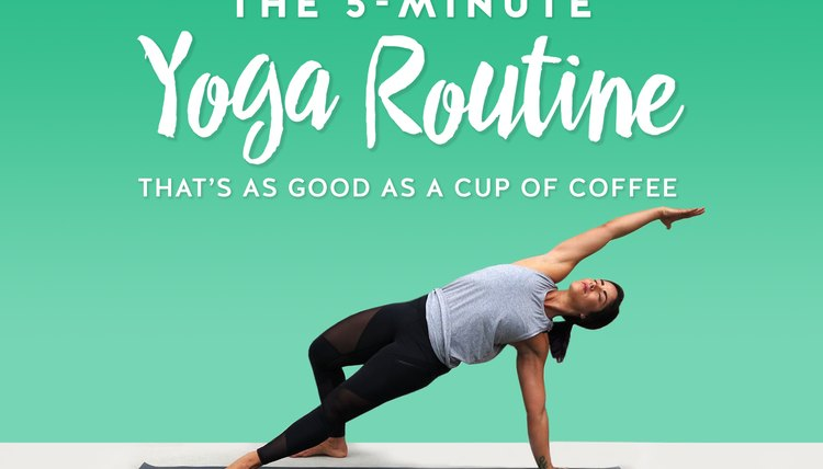 The 5-Minute Yoga Routine That's as Good as a Cup of Coffee