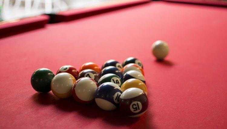 Pool Table Markings & Measurements