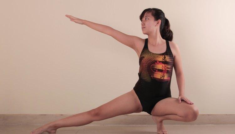 How to Keep Underwear From Showing Under a Gymnastics Leotard