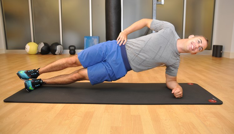 Does the Side Plank Exercise Strengthen the Back?