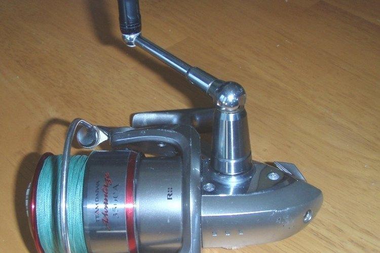 Parts of a Daiwa Fishing Reel