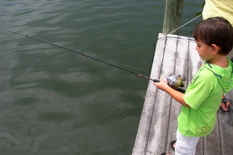 Spincast reels are perfect for children.