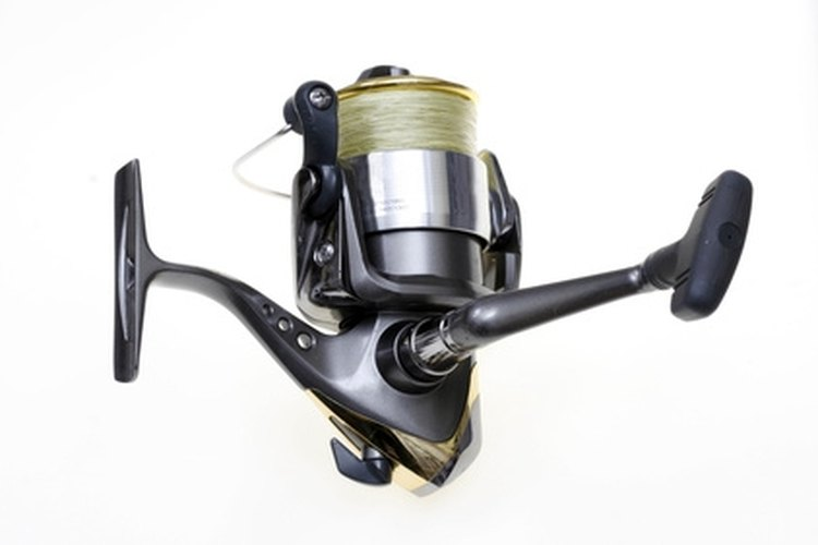 Braided lines will work on any type of reel.