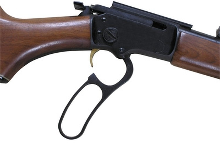 Mounting a scope on a lever action rifle greatly improves accuracy.