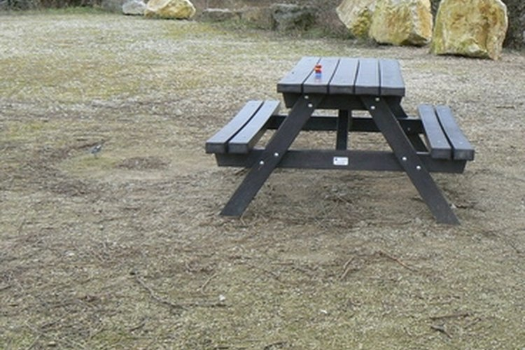 Build your own picnic table.