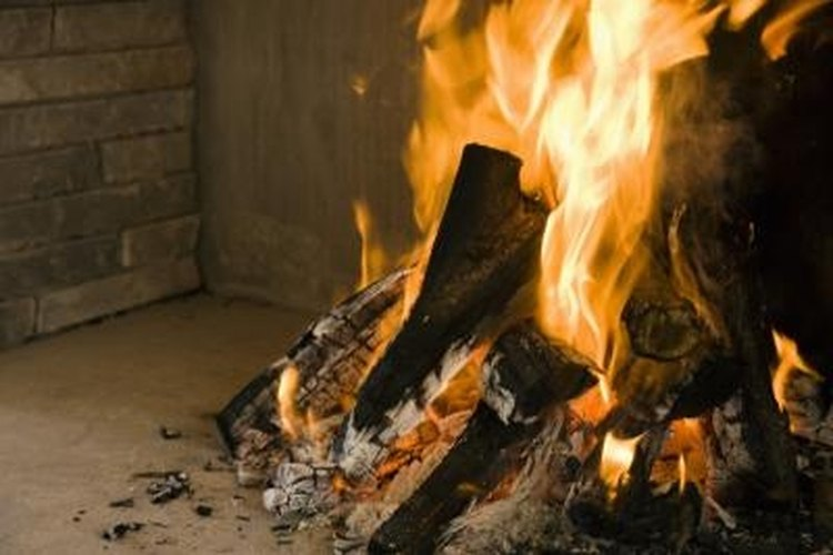 Different types of wood have different burning characteristics.