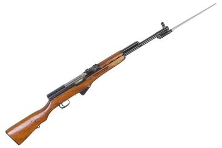 The SKS uses the same round as the AK-47.