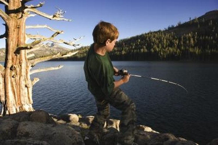 Many young anglers start their fishing career with spincast reels.