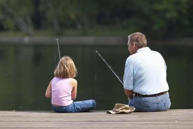 Anglers of all ages use Thill balsa floats.