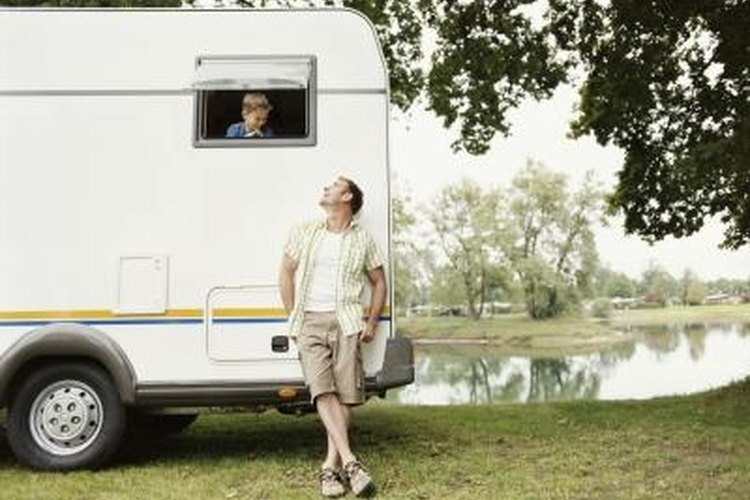 Some roof sealants may need to be replaced on your camper roof.