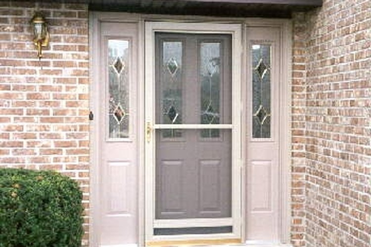 How To Install An Entry Door With Sidelights Gone
