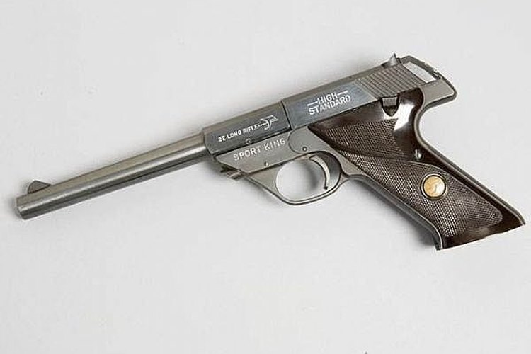 FIELD STRIP A HI-STANDARD SPORT KING 22 cal automatic pistol , high standard