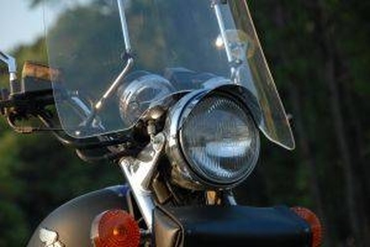 Motorcycle windshields require special care