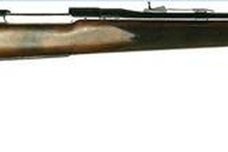 A .22LR bolt action rifle.