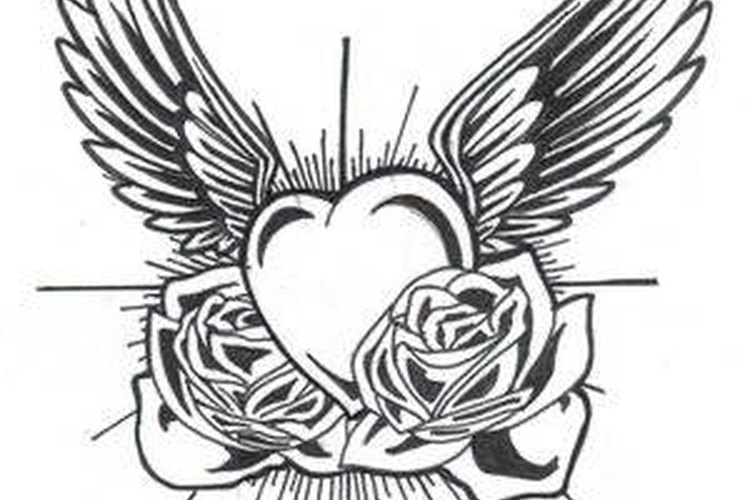 Tattoo Drawings On Paper Small: How To Make A Tattoo Stencil Out Of Tracing Paper