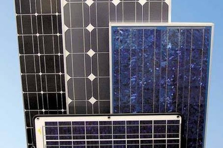 Connecting solar panels to a battery is a convenient way to keep it charged.