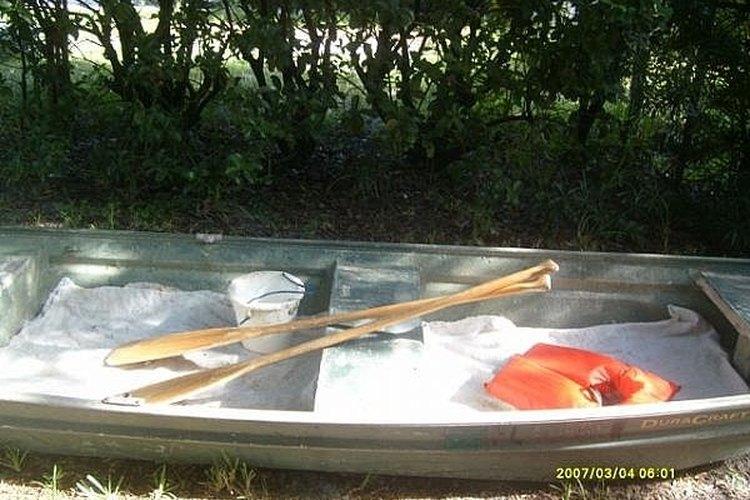 Aluminum Fishing Jon Boat
