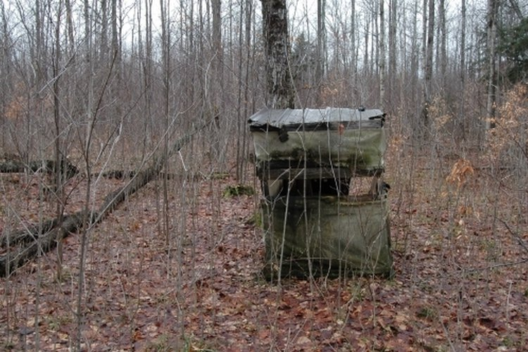 homemade deer hunting blinds gone outdoors your