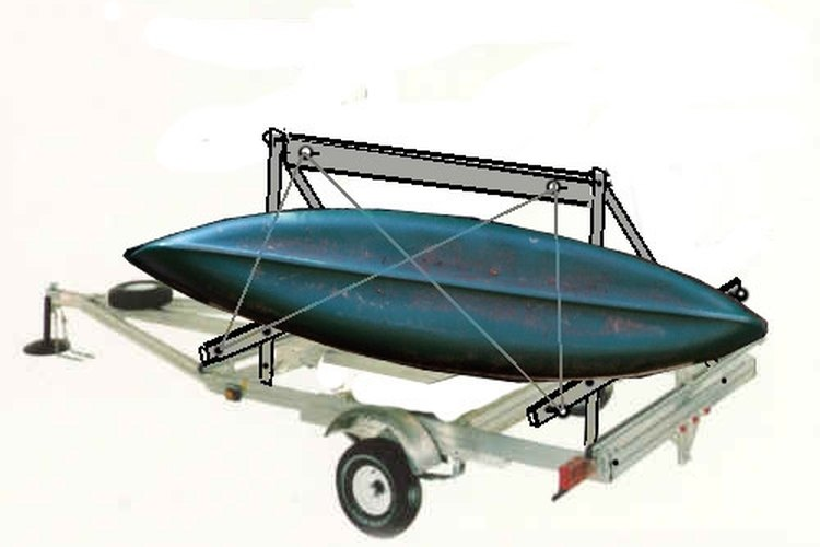 This Simple Kayak Trailer Can Be Built Without Welding.