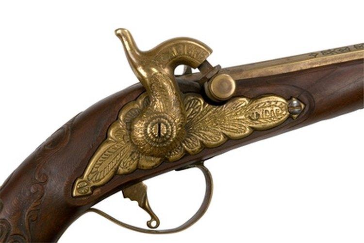 An antique gun