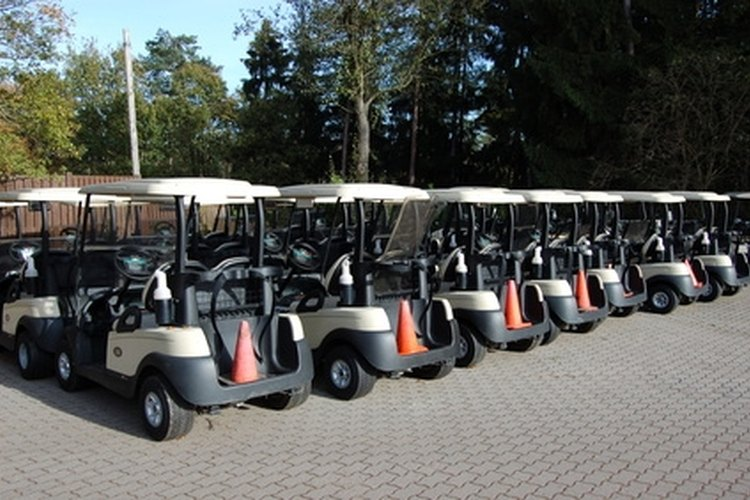 Many companies make golf carts, Yamahas are the hardest to find a date on