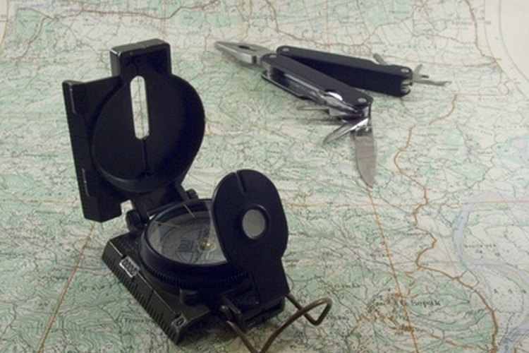 The U.S. military uses the lensatic compass.