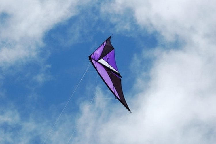 Make a kite fishing rig for the beach.