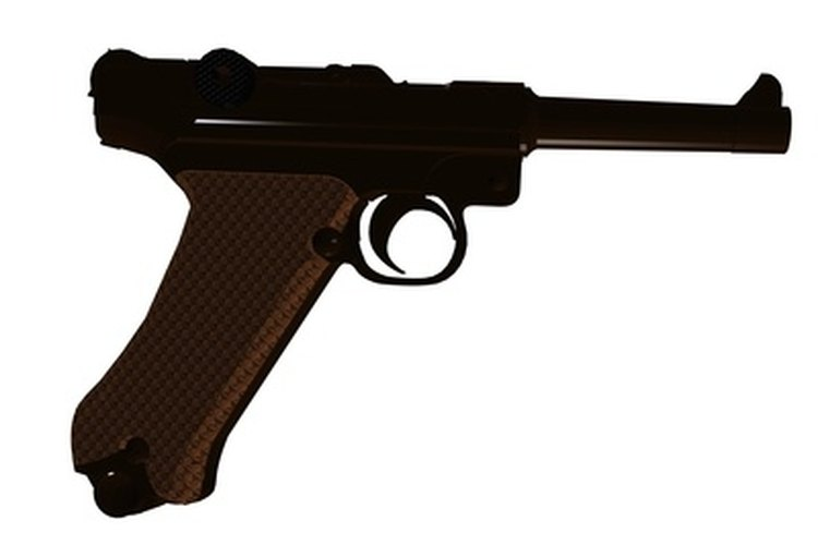 The Luger P08 was the first handgun to incorporate the 9 mm parabellum round.