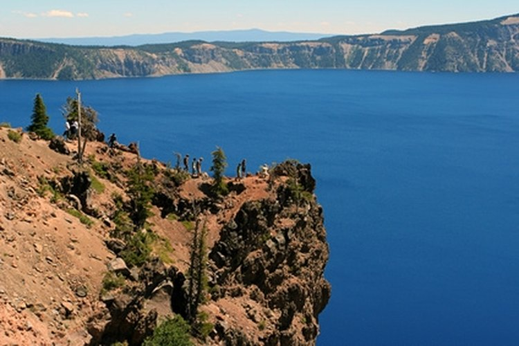 Crater Lake is a popular southern Oregon attraction.