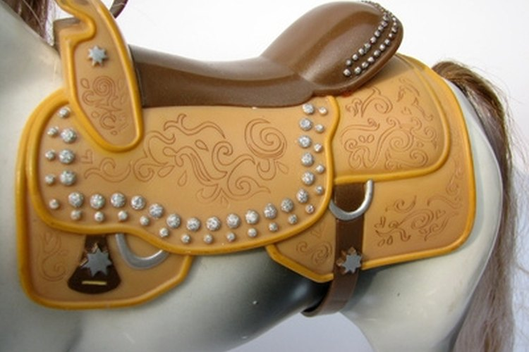 Some saddles may look pretty but be made of plastic and poorer materials.