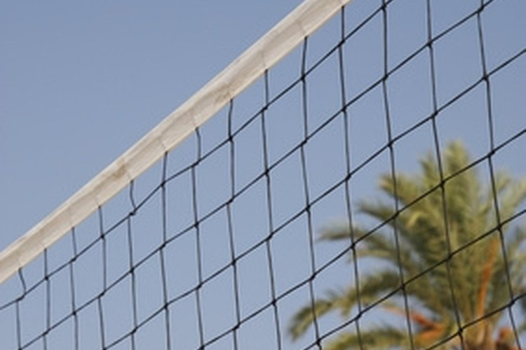 Build your own high-quality and portable volleyball net