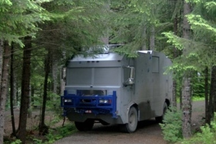 You won't have to park your RV in the woods if you remove the oxidation.