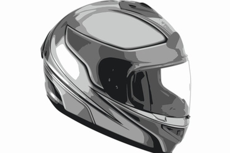 Manufacturers make helmet visors relatively easy to change out.