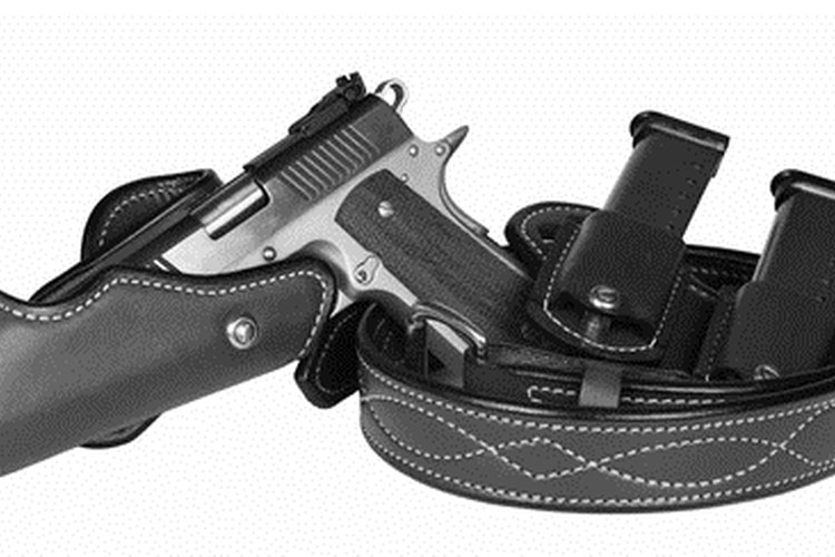 Holsters come in many shapes and sizes, and they have multiple features.