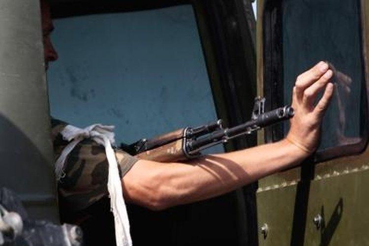Remove the SKS Front Sight Bayonet Lug
