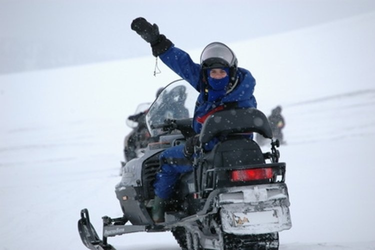 The Yamaha Venture 480 is a good entry-level snowmobile.