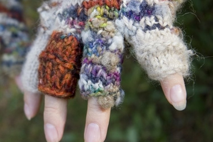 Chemical handwarmers work better than mittens or gloves to provide warmth.