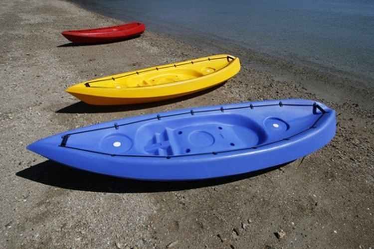 Don't leave your kayaks lying around; install a ceiling hoist and get them off the ground.