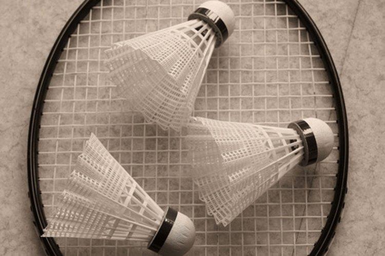 Badminton is a popular outdoor recreational activity.