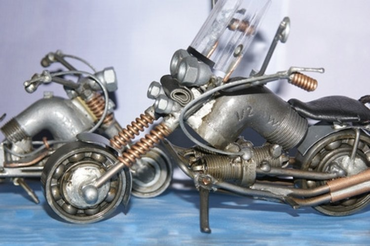 Building a cheap motorcycle requires patience and mechanical knowledge.