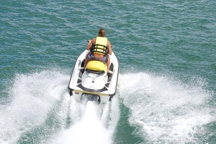 Jet skis are a fun way of exploring the sea and lakes.