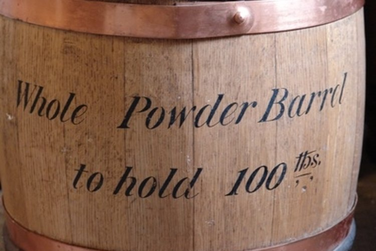 The residue from gunpowder is exceedingly difficult to remove.