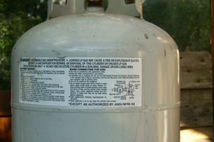 Refilling 1-lb. propane canisters from your 20-lb. gas grill tank can save you money.