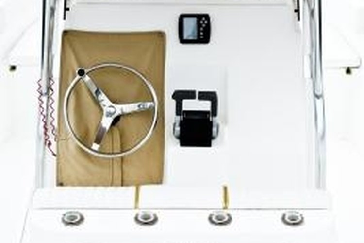 You should visualize how the boat steers and is powered before attempting any repairs.