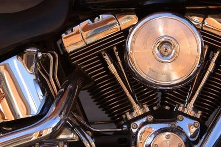 Adding a turbo to a motorcycle engine boosts horsepower.