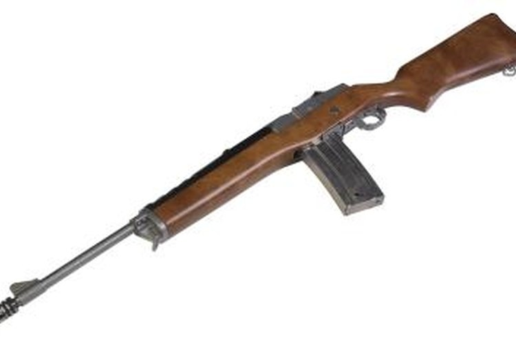 Ruger's Mini-30 is modeled after U.S. military rifles.
